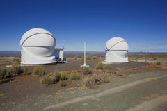 View of astronomical observatory Stock Image