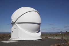 View of astronomical observatory Royalty Free Stock Photos