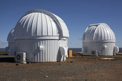 View of astronomical observatory Royalty Free Stock Photo