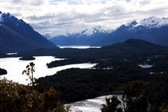 View At Bariloche Royalty Free Stock Photo
