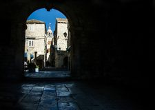 Free View At Korcula Town  In Croatia Royalty Free Stock Image - 159438516