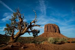 Free View At Monument Valley, Arizona, USA Stock Image - 114558541