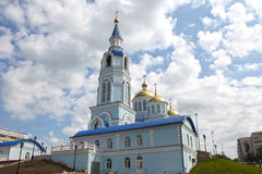 View At Temple Of Kazan Icon Of The Mother Of God In Saransk, Repulic Mordovia Royalty Free Stock Photography