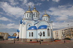 View At Temple Of Kazan Icon Of The Mother Of God In Saransk, Repulic Mordovia Stock Image