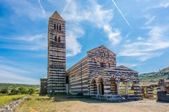 Free View At The Basilica Holy Trinity Of Saccargia Royalty Free Stock Photo - 46418265