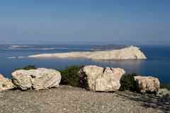 View At The Island Goli Otok Royalty Free Stock Photography