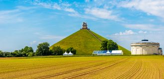 Free View At The Watrloo Hill With Memorial Battle Opf Waterloo In Belgium Royalty Free Stock Photo - 123217355