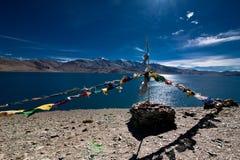 View At Tso Moriri Lake, India Royalty Free Stock Photos
