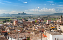 View from Atalaya Castle, Villena Stock Image
