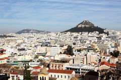 View on Athenes Royalty Free Stock Photos