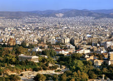 View at Athens Stock Photos