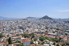 View of Athens Royalty Free Stock Image