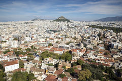 View of Athens from the Acropolis, Stock Photography