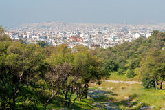 View of Athens from Acropolis, Greece Stock Images