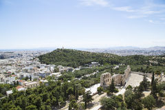 View of Athens Royalty Free Stock Photos