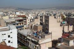 View on Athens city Royalty Free Stock Photos