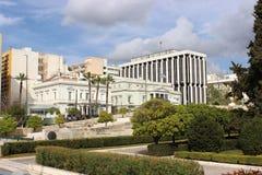 View of Athens stock photos