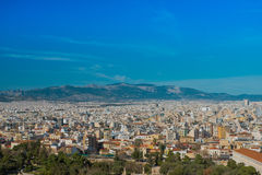 View of Athens city, Greece Royalty Free Stock Image