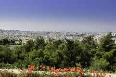 View of Athens city, Royalty Free Stock Photography