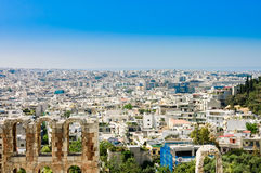 View of Athens city, Royalty Free Stock Image