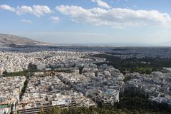 View of Athens City - Greece Royalty Free Stock Image