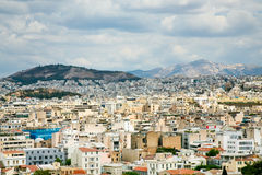 View on Athens, Greece Royalty Free Stock Images