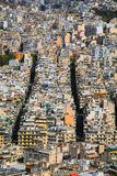View of Athens from Mount Lycabettus Royalty Free Stock Photography