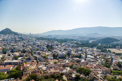 View of Athens Stock Image
