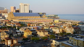 View of Atlantic City in New Jersey Royalty Free Stock Photography