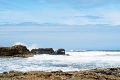 View of Atlantic ocean in Costa da Morte, Spain Stock Photography