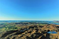 Top of Lough salt hill stock photography