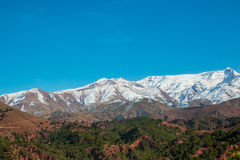 View the Atlas mountains of Morocco Stock Images