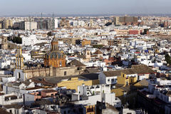 View From Atop Cathedral of Seville, Spain Stock Image