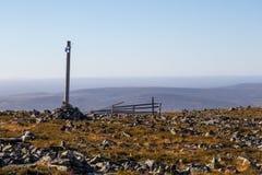 View atop of the mountain Stock Photos