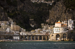 View of Atrani Stock Image