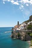 View Atrani village from Amalfi peninsula Italy Stock Photos