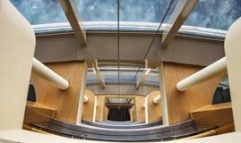 View by Atrium Windows Royalty Free Stock Photos