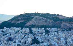 Athens. View of the ancient city of Athens in Greece Stock Images