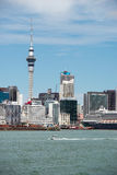 View of Auckland city skyline, New Zealand Stock Photos