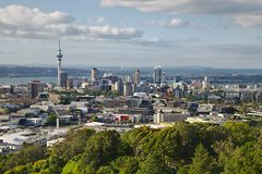 View of Auckland Royalty Free Stock Photography