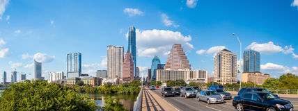 View of Austin, downtown skyline Stock Image