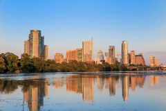 View of Austin, downtown skyline Royalty Free Stock Photos