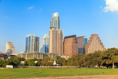 View of Austin, downtown skyline Royalty Free Stock Photo