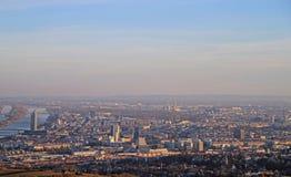 The view of austrian capital Vienna Stock Photos