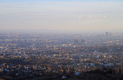 The view of austrian capital Vienna Royalty Free Stock Images