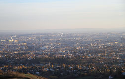 The view of austrian capital Vienna Stock Image