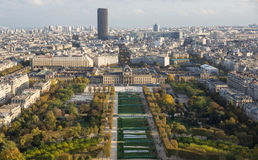 View of autumn Paris Royalty Free Stock Photos