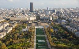 View of autumn Paris Royalty Free Stock Photos