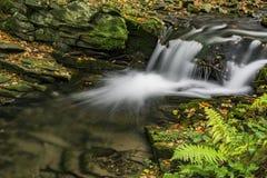 View of autumn waterfalls Royalty Free Stock Photos