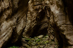 A view of the avakas gorge canyon, Cyprus Stock Photography